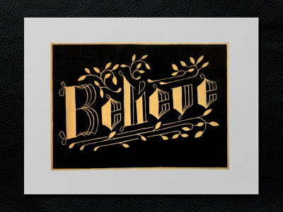 """Believe"" 