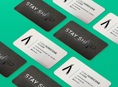 Stay Sharp Branding