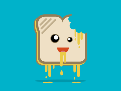 Cannadesign Dribbble Grilled Cheese Bitten