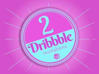 Dribbble 3 Invite Badge