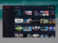 Netflix Desktop Application