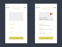 Daily UI challenge #002 Credit Card Checkout