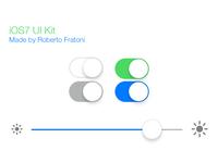 PSD iOS7 UI Kit