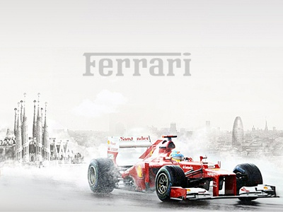 Ferrari Contest Online scuderia ferrari ferrari f1 fomula1 art direction contest snap website ui design