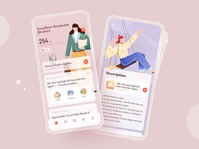 Educational App Design app ui design