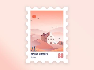 Stamp illustration inset icon