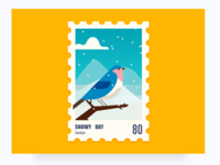 Stamps illustrations