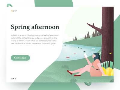 Web page illustrations ui web the people illustrations green