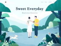 Web page illustrations