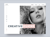 Photography Landing Page