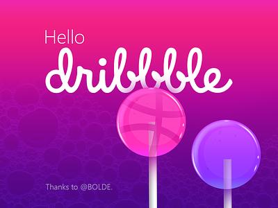 Hello Dribbble! dribbble hellodribbble firstshot thanks dribbble invitation debutshot debut