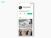 Daily UI #006 User Profile
