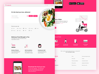 Foodpanda Website Redesign