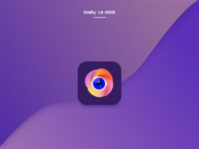 Daily UI 005 AppIcon