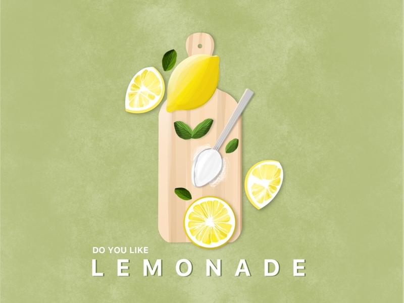 Do You Like Lemonade drawing draw graphicdesign illustration art graphic design design art procreate art lemonade lemon procreate illustration
