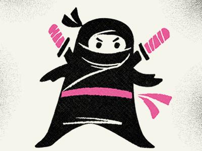 ninja cutejeff walter - dribbble