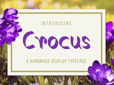 Crocus Free Typeface