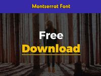 Montserrat Font design download font fonts free freebie freebies graphic icons portfolio themes typefaces
