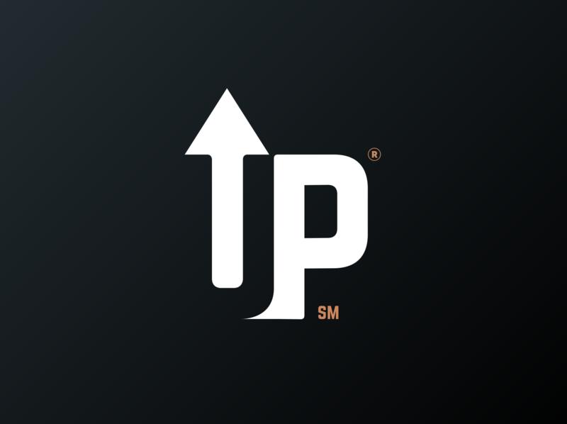Ultimate Pizza Logo Concept system minimalist logo flat logo design typography clean branding