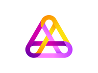 Abstract Triangle Logo