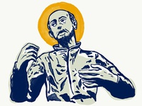 Saint Ignatius Illustration