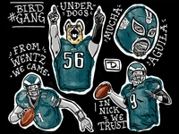 Eagles Flash Sheet