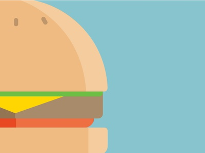 Burger icon vector illustration burger