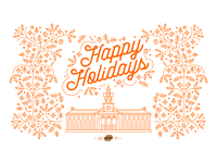 2017 Holiday Card for Oklahoma State University