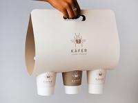Käfer: Coffee + Roaster drink carrier