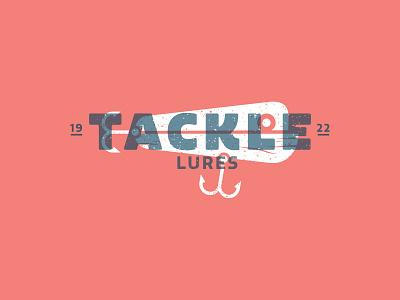 Tackle Lures Logo II vector art ocean water lure fishing design logo branding vector fish