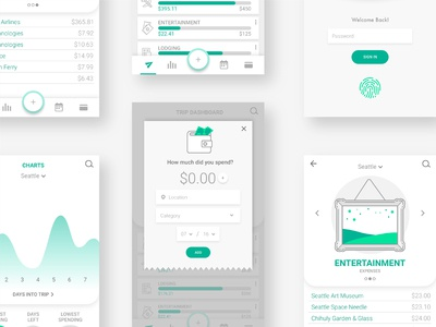 UI details for paperplane