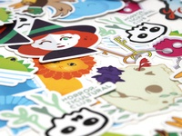 Sticker Pile