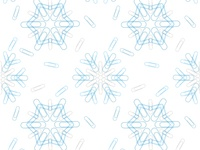 Paperclip Snowflake