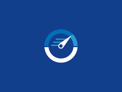 Bilingual Communications final logo (diapositive) mark design b c speedometer stopwatch translate document text grid speed logo