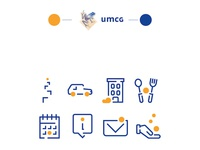 Event icons ICPA/UMCG