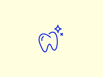 Tooth illustration sparkle chompers tooth