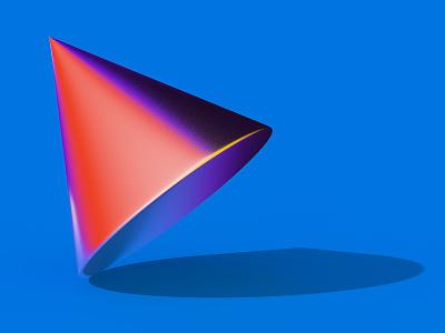 Cone reflection light stilllife color render c4d cinema4d