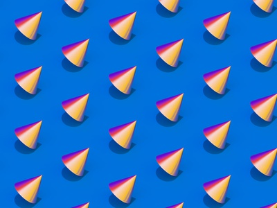Cone Experiment 3d c4d geometry illustration cinema4d
