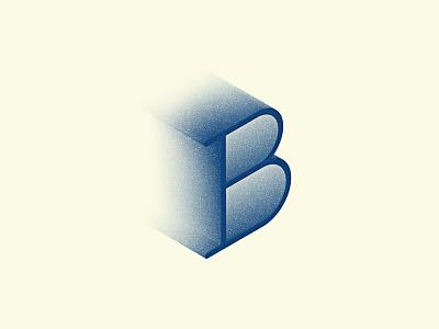 Letter B identity branding letter gradient logo monogram typography