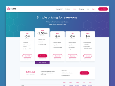 Pricing - Desktop chill soft relax hover buttons pill copy hero illustration hexagon grid page pricing ux ui card layout design web