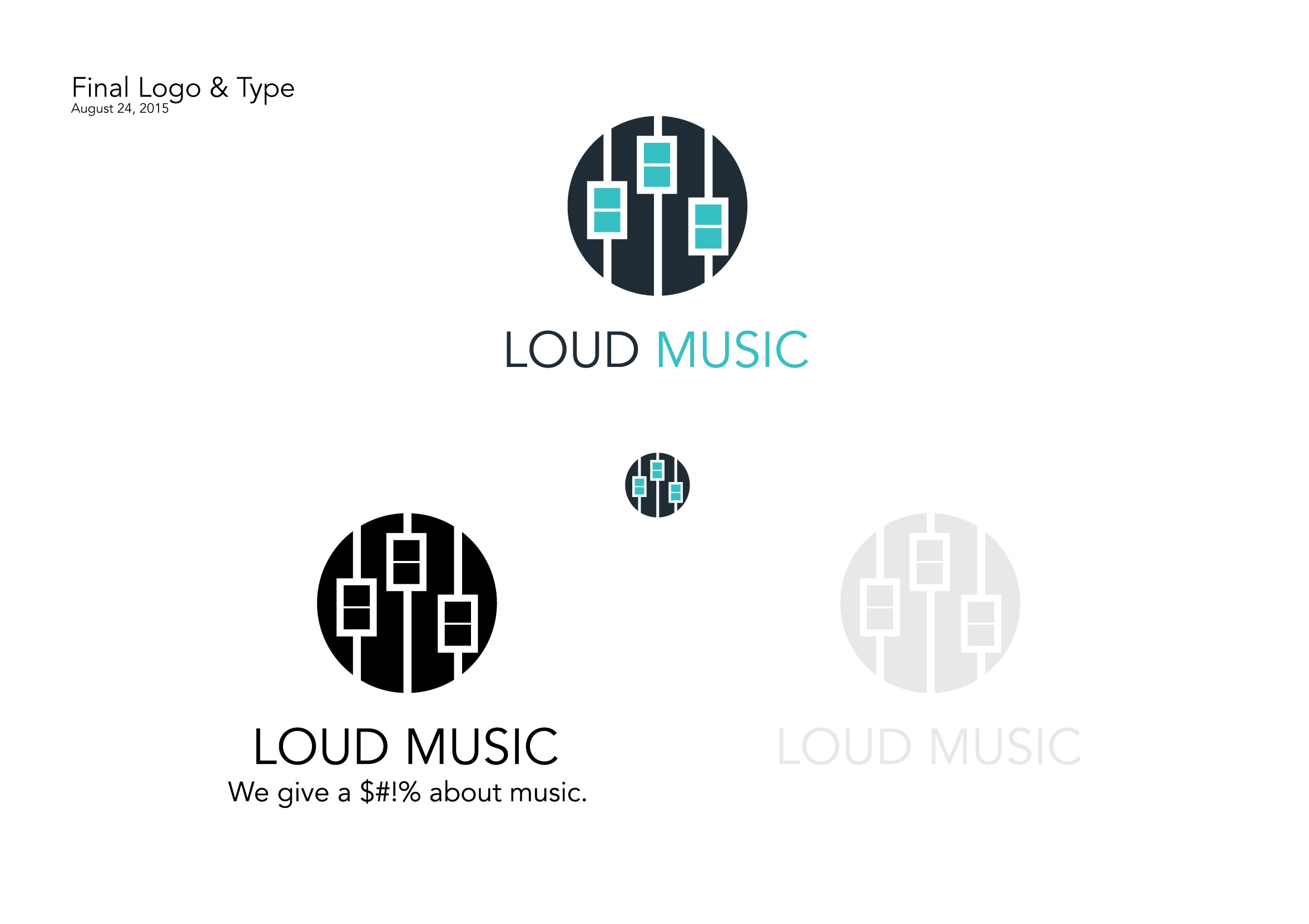Chad Projects Loud Music Dribbble