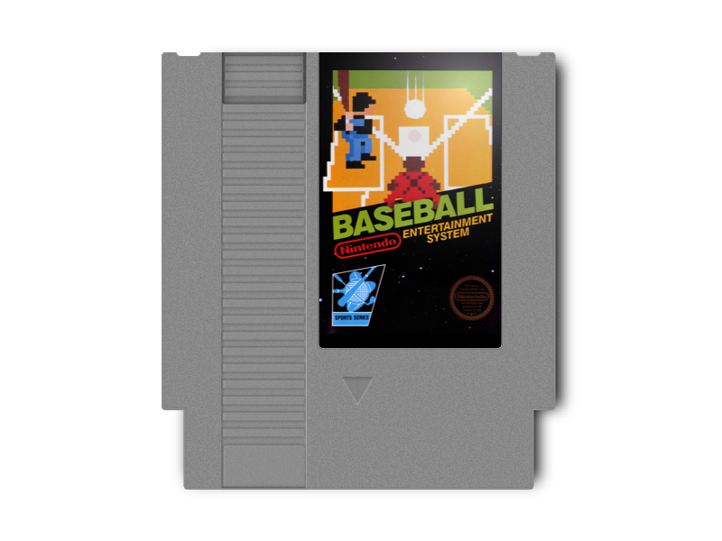 Free Sketch Template - NES Cartridge free sketch template artwork game illustration cartridge nes
