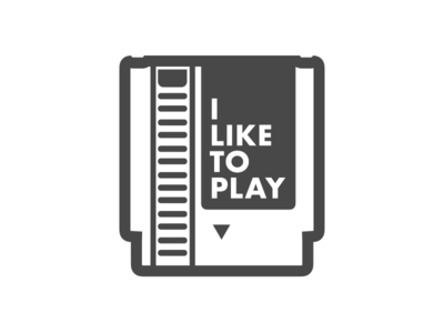 I Like To Play - Logo
