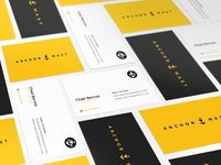 Business cards layout 3