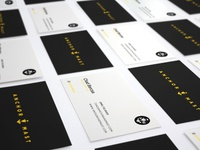 Business cards layout 1