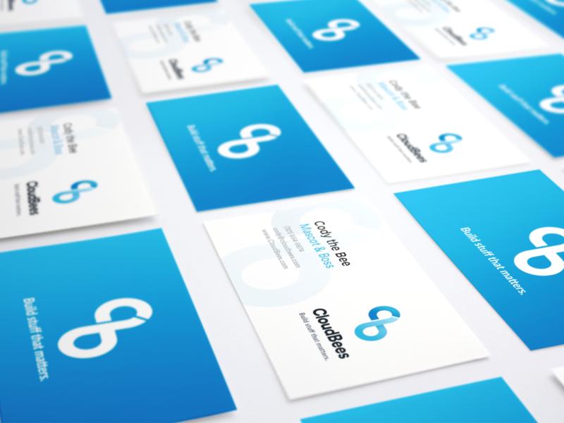 Business Card Mockup Logo C