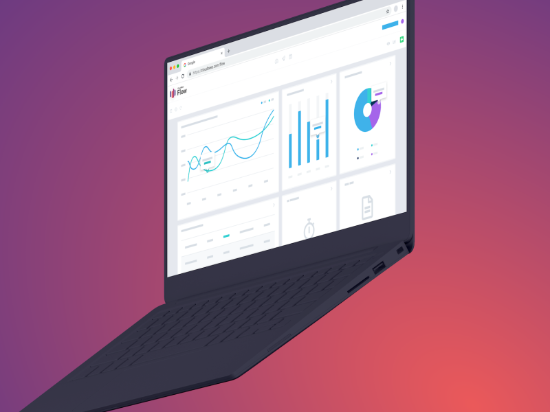 Product Abstractions sketchapp laptop device mockup dashboard illustration abstraction product