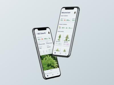 Cannabis Growth Journal App