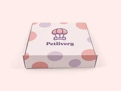 Petlivery - Branding Design care love sweet isotype merchandising pet care studio packaging design packaging cat dog petshop pets visual branding design brand identity brand design branding design