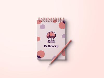 Petlivery - Branding logo graphic packaging delivery sweet merchandise studio love pet care pet petshop pets visual branding design brand identity brand design branding design
